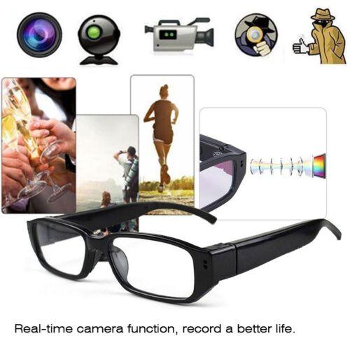 Mini HD Kamerabrille Spionbrille SPY Spion Kamera Videobrille Brillenkamera 32GB