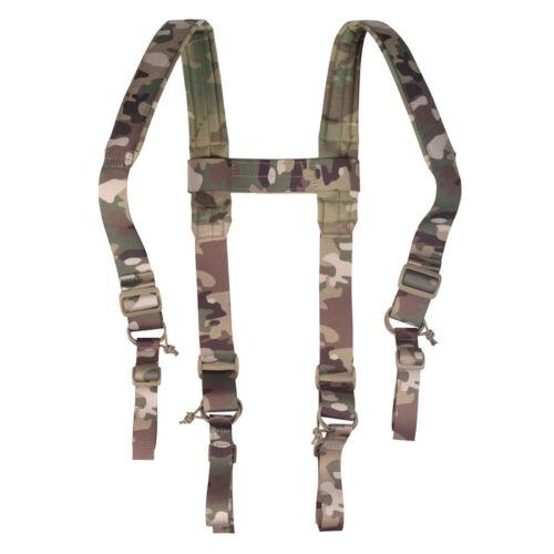 Tactical Shoulder Straps Durable Nylon in MULTICAM color by Stich Profi