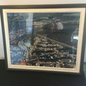 Framed Aerial Picture of Ridgevale, N.S.