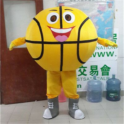 Basketball Mascot Costume Suits Halloween Cosplay Party Game Dress Outfits Adult