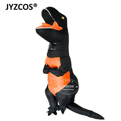 T-Rex Inflatable Costume Dinosaur Fancy Dress Men Women Party Cosplay Halloween