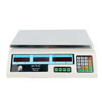 LCD Digital Electronic Scale Price Computing Count 30kg/66lb 5g/