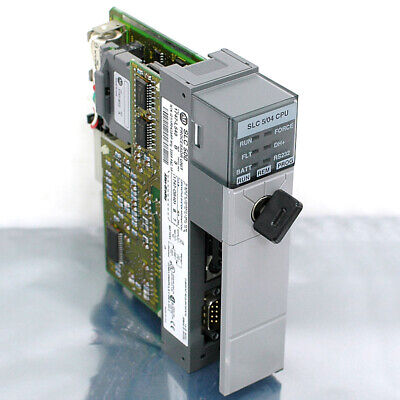 Allen-bradley Slc500 504 Processor Unit 1747-l543 Series B Cpu 1747-m12 Memory