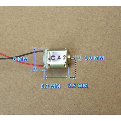 8mm9mm Micro Mini Fk10b Dc 3v 44000rpm High Speed Tiny Electric Motor Diy Parts