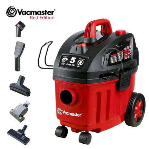 Vacmaster Shop Vacuum Cleaner Wet Dry Car Carpet Cleaners 5 Peak HP | 4 Gallon