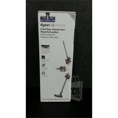 Dyson 216829-01 V6 Animal Cordless Stick Vacuum, Bagless, Run-Time Up to 20min