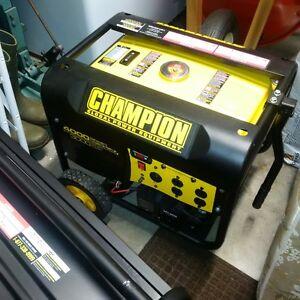 4000 watt Electric Start Champion Generator New plus tax Kitchener / Waterloo Kitchener Area image 1