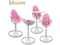 Brand New Boxed Bloom Fresco High Chair Rosy Pink