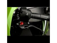 WOMET-TECH Kawasaki Ninja ZX10R Short Levers in Black