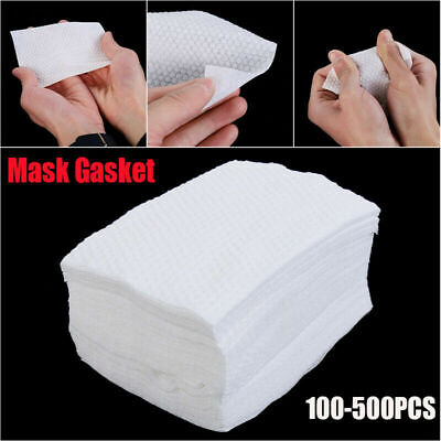 100/200/500PCS Gasket Pad Filter Activated Carbon Breathing Filters Face Mask