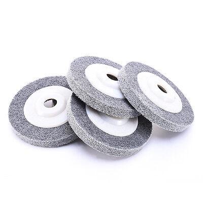 100 12 16 mm nylon faser schleifscheibe rad metall holz polieren schleifer ebay. Black Bedroom Furniture Sets. Home Design Ideas