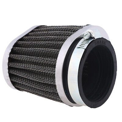 Motorcycle 50mm Engine Intake Air Cleaner Filter Universal Washable Reusable ATV