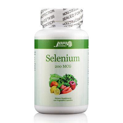 Selenium 200 MCG 100 Vegitable - 200 Mcg 100 Capsules