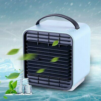 Portable Mini Air Conditioner Cool Cooling For Bedroom Cooler Fan Multicolor USB