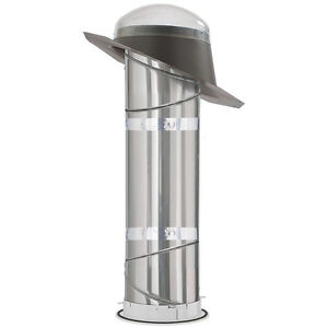 New Velux 10 in. Sun Tunnel Tubular Skylight and tube extension