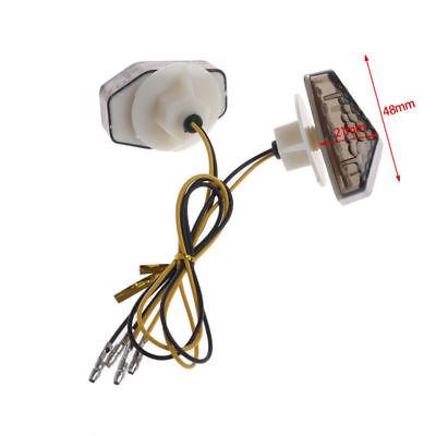 4x Smoke Flush Mount LED Indicator Turn Signal SUZUKI GSXR 1000 750 600 SV650S