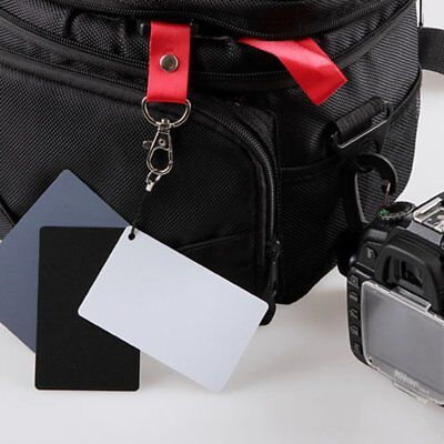 High Quality Exposure Cards 3in1 Digital 18% Gray/White/Black Card Set BH Digitale Sonnenbrille