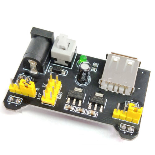 Board MB102 Breadboard Power Supply Module 3.3V/5V For Ardui