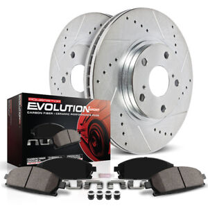 Powerstop front brakes Accord 03-11 Acura TSX 04-10