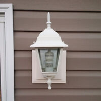 3 Brand NEW, Matching Outdoor Light Fixtures for Sale