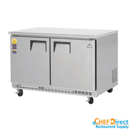 "Everest Etbf2 48"" Double Door Undercounter Freezer"