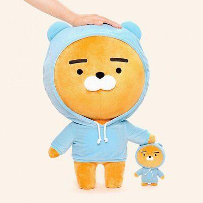[KAKAO FRIENDS] Kakao Talk Character Hoodie RYAN 60cm Plush doll +Tracking
