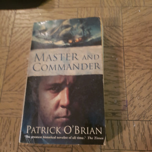 Master and commander paperback