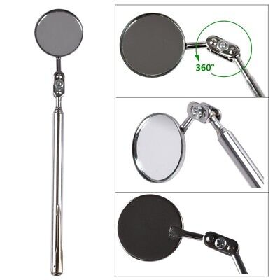 Stainless Steel Car Engine Chassis Telescopic Detection Mirror Auto Repair Tool