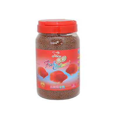 No.1 Best Red Parrot Fish Food By UNI-president Fast Color Enhancer Medium