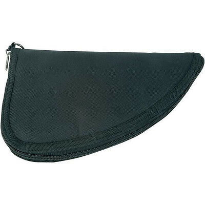 Black Soft Case Padded Gun Rug, Handgun Storage Sleeve Hunt Pistol Carry Pouch