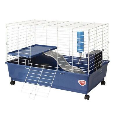 Kaytee My First Home Deluxe Guinea Pig 2-Level Cage with