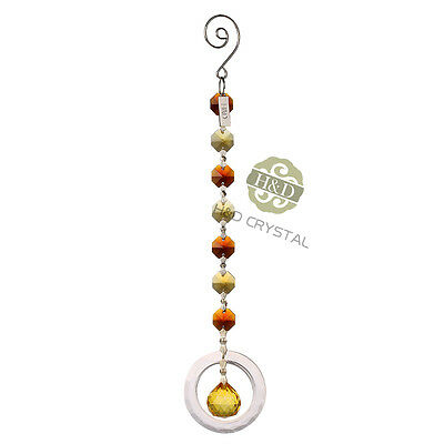 Crystal Suncatcher Chandelier Ball Prism Pendulum Hanging ...
