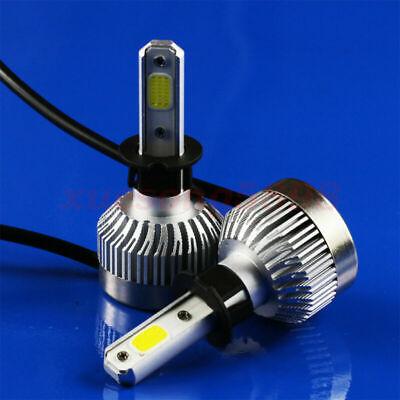 Car H3 LED Headlight Bulbs Conversion COB Kit Fog Light HID 1800W 250000lm 6000K