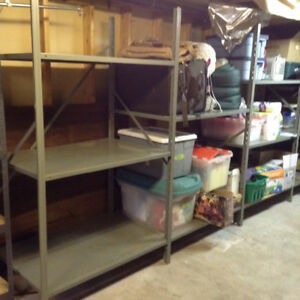 Large Sturdy Shelving Unit - Great for Storage