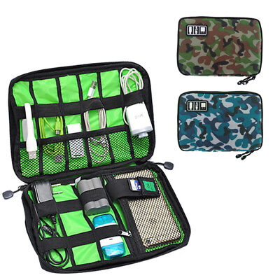 Gadget Cable Organizer Storage Bag Travel Electronic Accessories USB Pouch Case