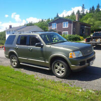 2004 Ford Explorer SUV, Crossover