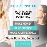 Curious about joining Avon? Need a rep? Contact me today!