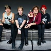 "5 Seconds of Summer Tickets July 12/16 ""Fantastic Seats"" Sec201"