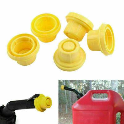 5pcs Replacement Yellow Spout Cap Top For Blitz Fuel Gas Can 900092 900094