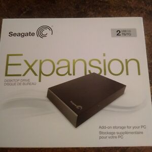 Seagate Expansion storage drive