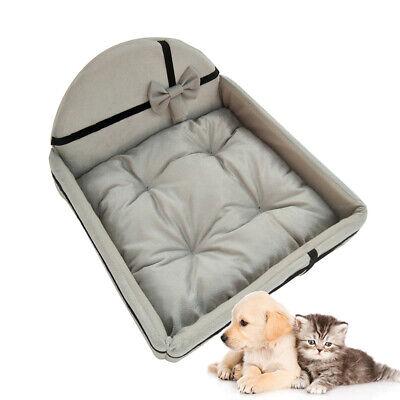Puppy Cat Dog Bed Pet Cushion House Bed Pillow Mattress Set Warm Kennel -