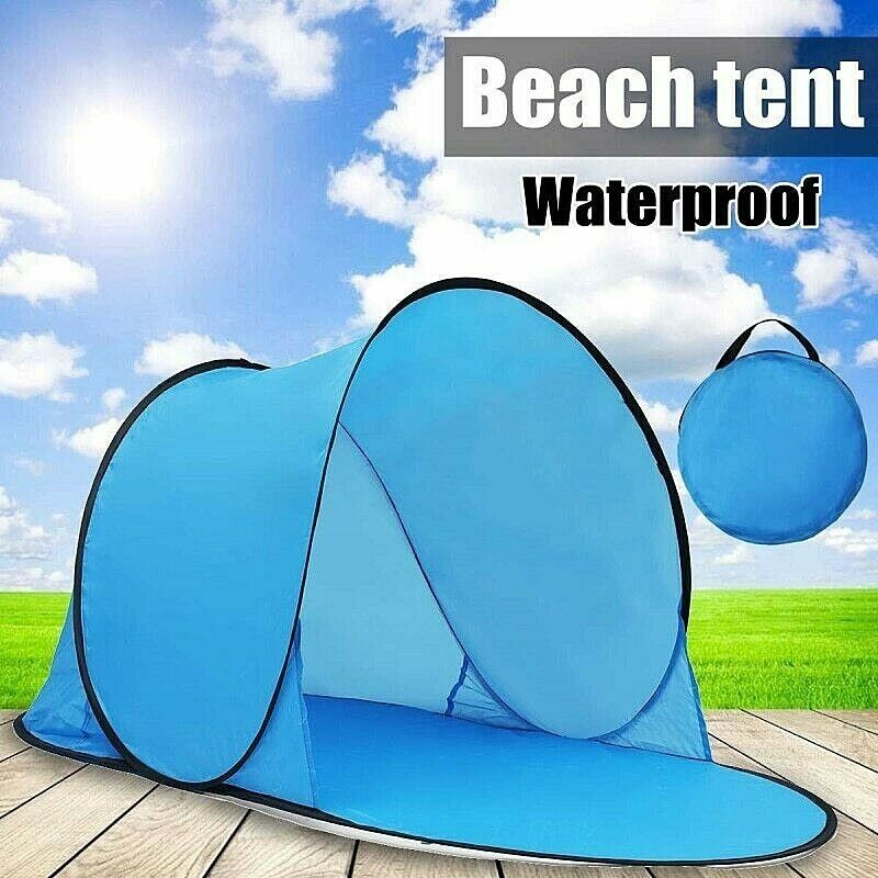 Tent Pop Up UV Beach Camping Open Automatic for 1 2 Person Outdoor Portable