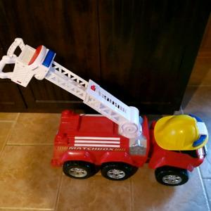 Camion de pompier matchbox