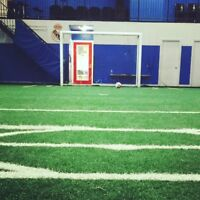 $90 RENT INDOOR SOCCER FIELD PRIME TIME - VAUGHAN MALL LOCATION