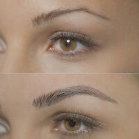 Microblading - 3D Eyebrows Cosmetic Tattoo Application $180