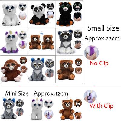 Feisty Soft Toys Change Face Stuffed Animal Plush Toy Scary Interactive Unicorn