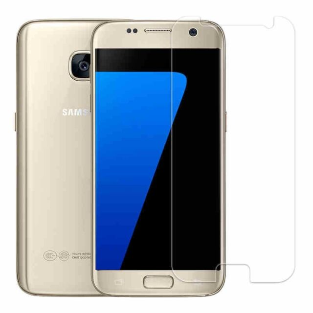 For Samsung Galaxy S7 9H Premium Clear Tempered Glass Screen Protector Film UK