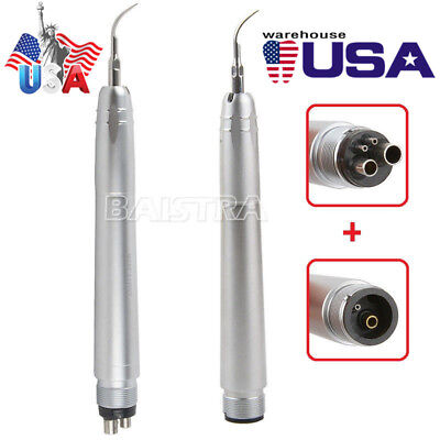Nsk Style Dental Ultrasonic Air Scaler Handpiece 24 Holes With 3 Tips G1 G2 P1