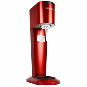 Red Sodastream Machine