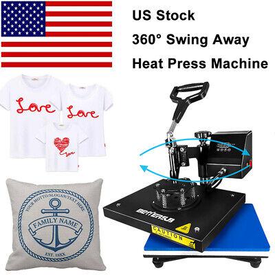 9x12swing Away Digital Heat Press Machine Transfer Printing T-shirt Mat Flat